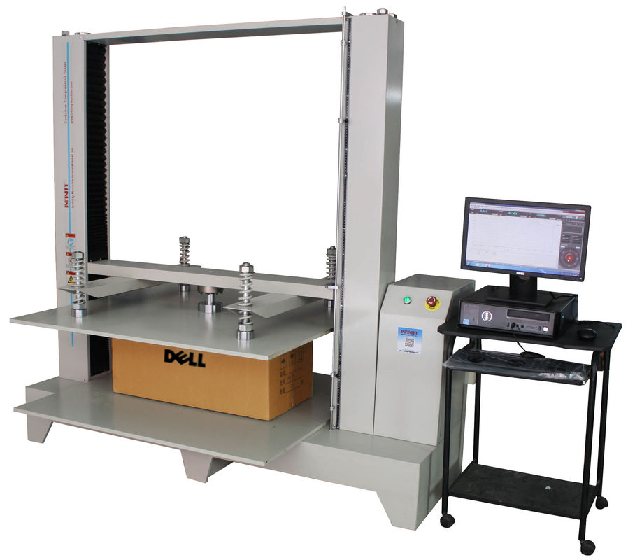 Packaging Test Instruments : Compression package testing equipment kn