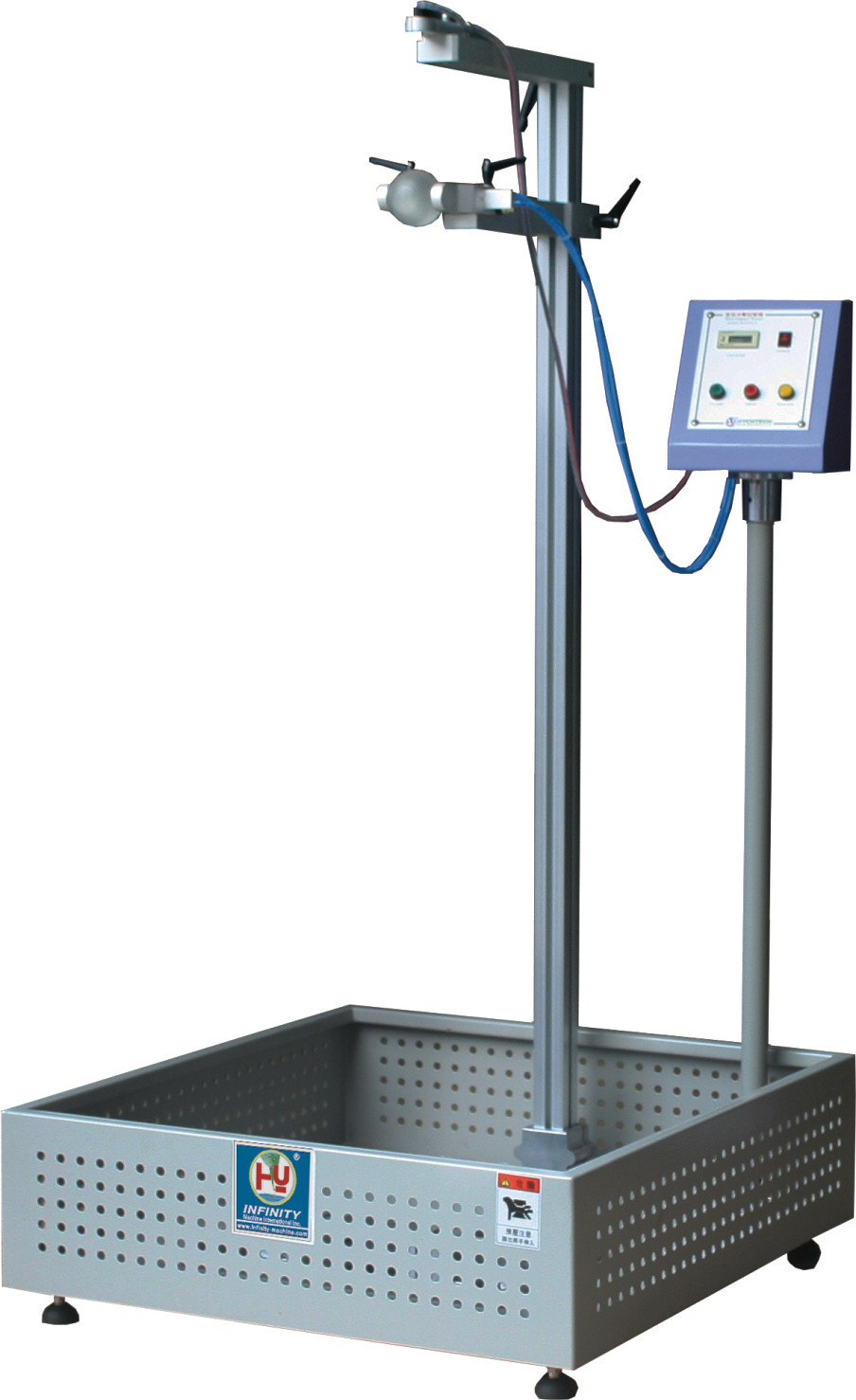 Electronic Product Testing Instruments : Electronic impact testing machine drop ball test