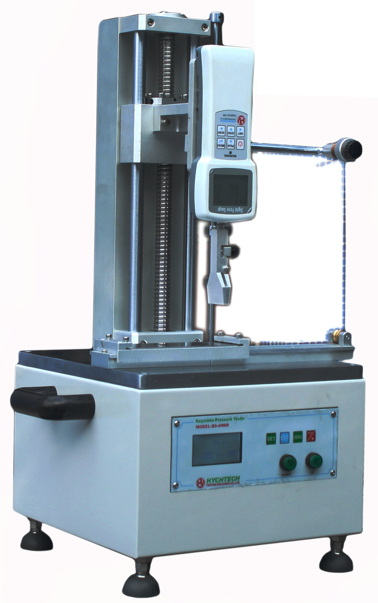 Electrical Force Measuring Instruments for Computer Keyboard Excel Report