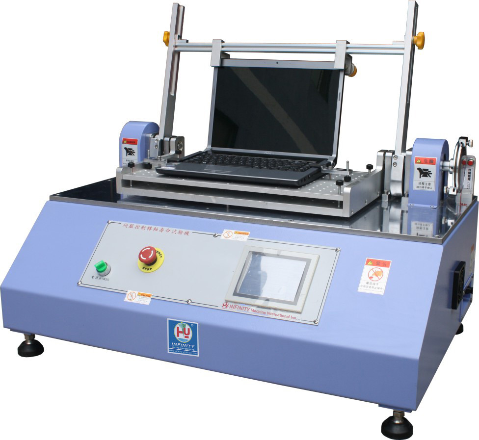 Stepping Hinge Torsion Spring Tester High Precise Load Cell Touch Screen
