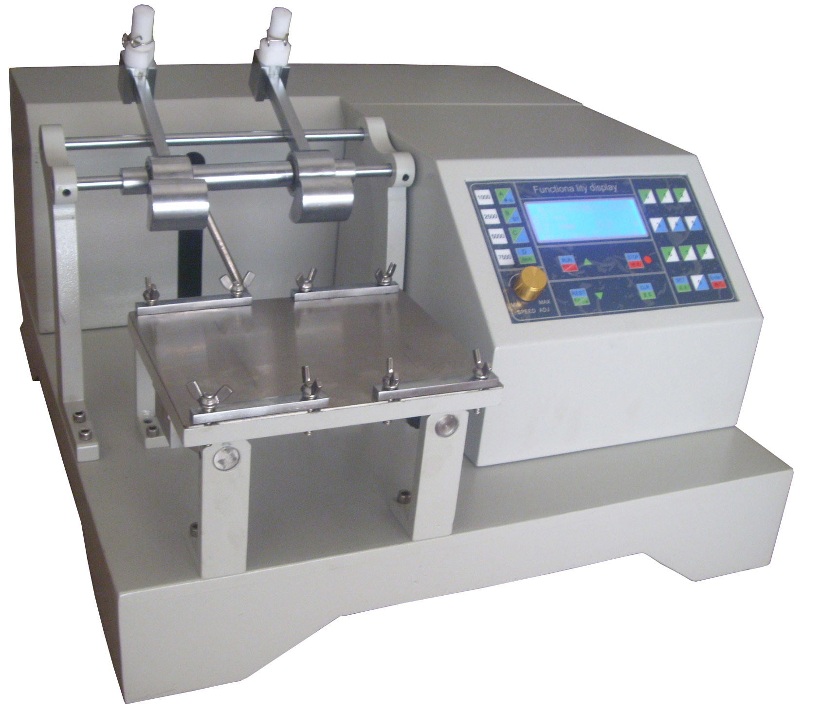 Computerized Dyed Specimen Crocking Test Machine Motor Double Hammers