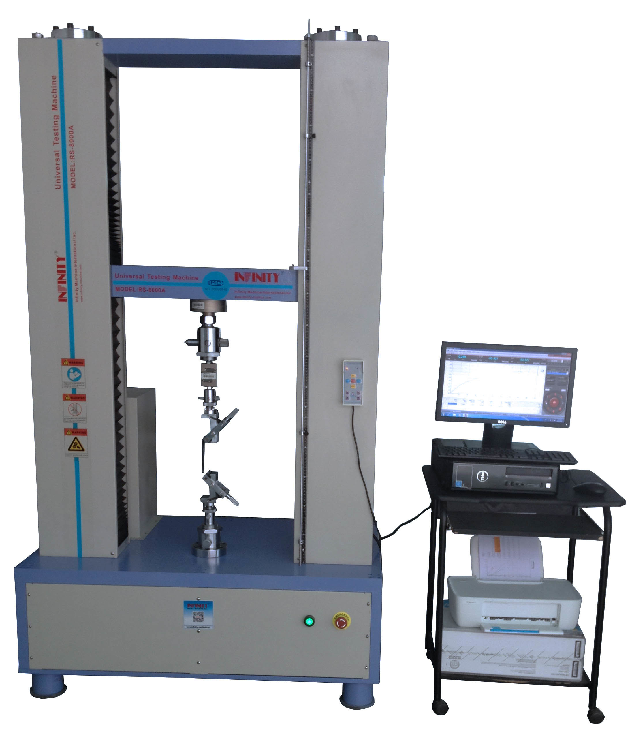 Concrete Compressive Strength Testing Machine Servo Control 300 KN Capacity