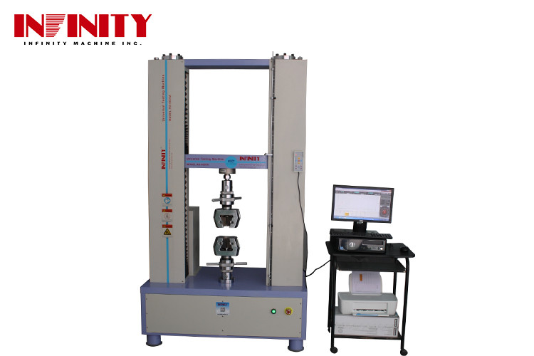 Rebar Metal Plastic Textile Tape Universal Tensile Machine For Hardness Bending Textile Test