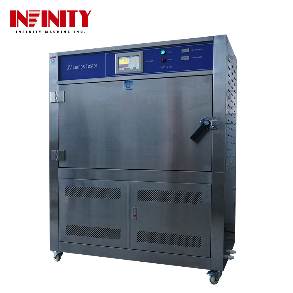 100 L UV Lamp Accelerated Aging Test Machine for Temperature Shining Strength Humidity