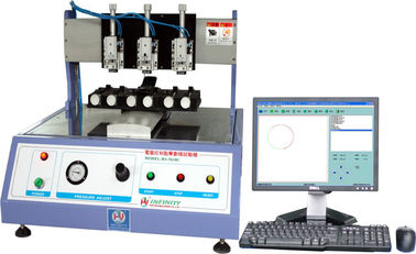China Computerised LCD Touch Panel Tester for Rolling Click Crossed Test factory