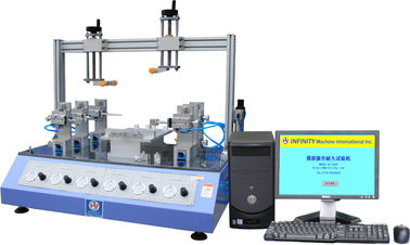 China Simulation Operation Electronic Product Tester Durability Mitsubishi PLC factory