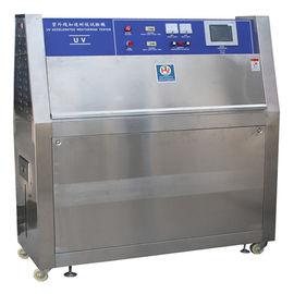 China UV Lamps Plastic Testing Machines / UV Accelerated Weathering Tester ISO 4892-3 factory